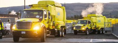 e360 waste trucks