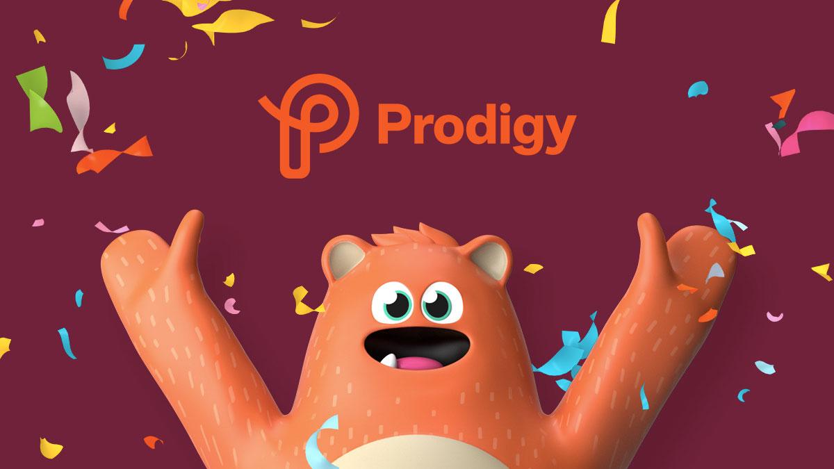 Prodigy celebration logo